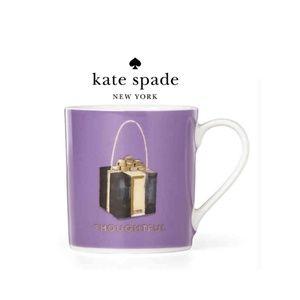 "Kate Spade Purple Things We Love ""Thoughtful"" Mug"